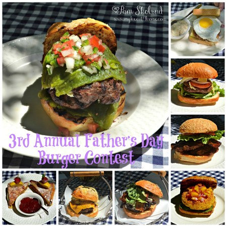 3rd Annual Father's Day Burger Contest