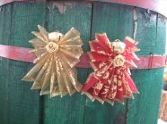 Ribbon Angel Ornaments