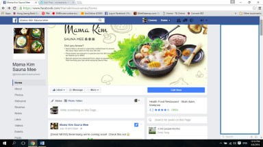 This is Mama Kim Facebook page, do add them