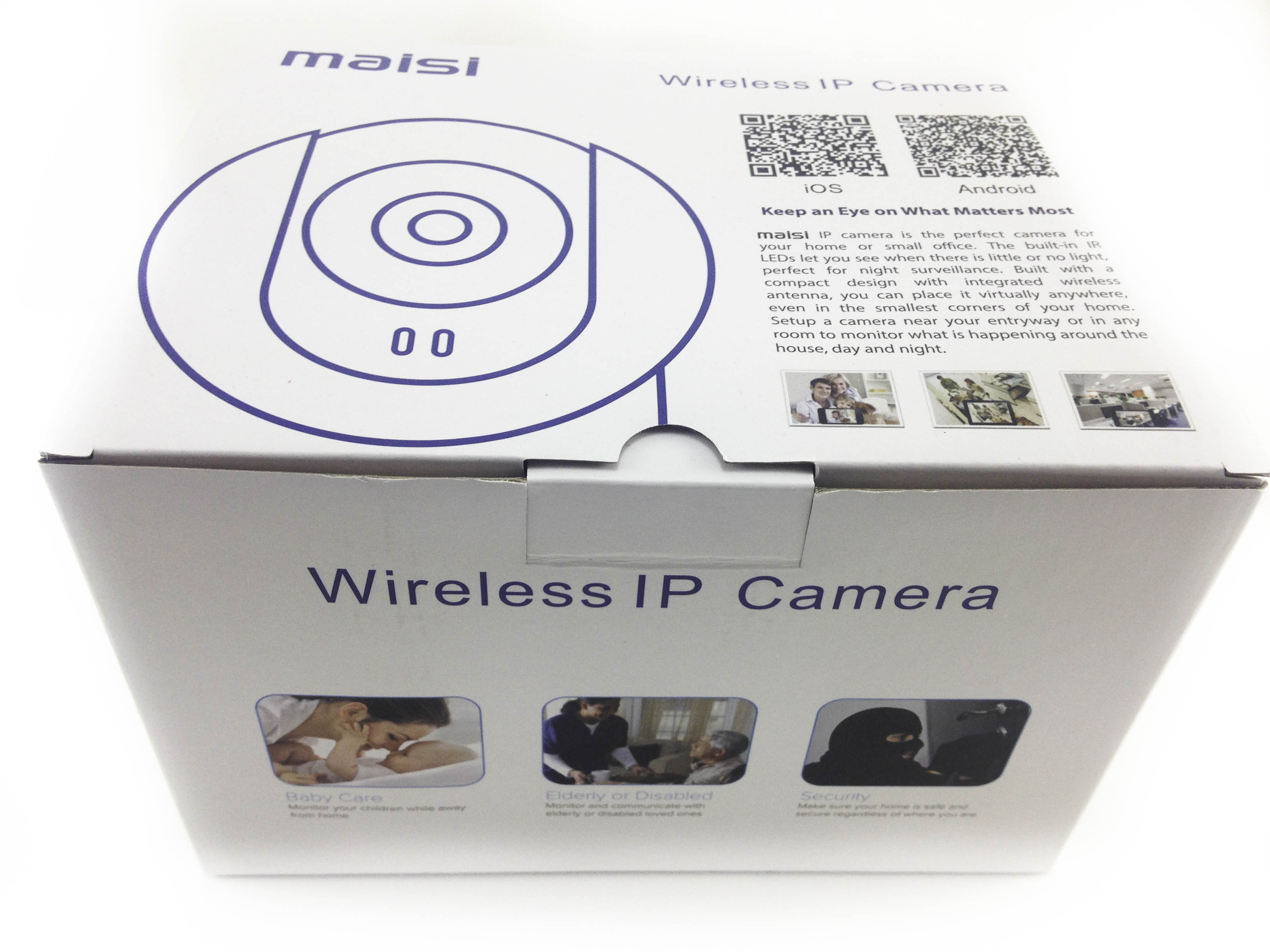Maisi Wireless Security IP Camera | My Helpful Hints | Honest Reviews