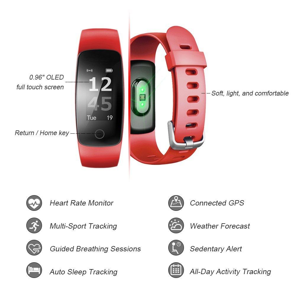 Letsfit ID107Plus HR Fitness Tracker