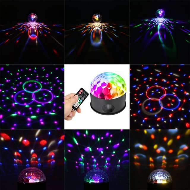 SOLMORE 9 Colour Music Ball