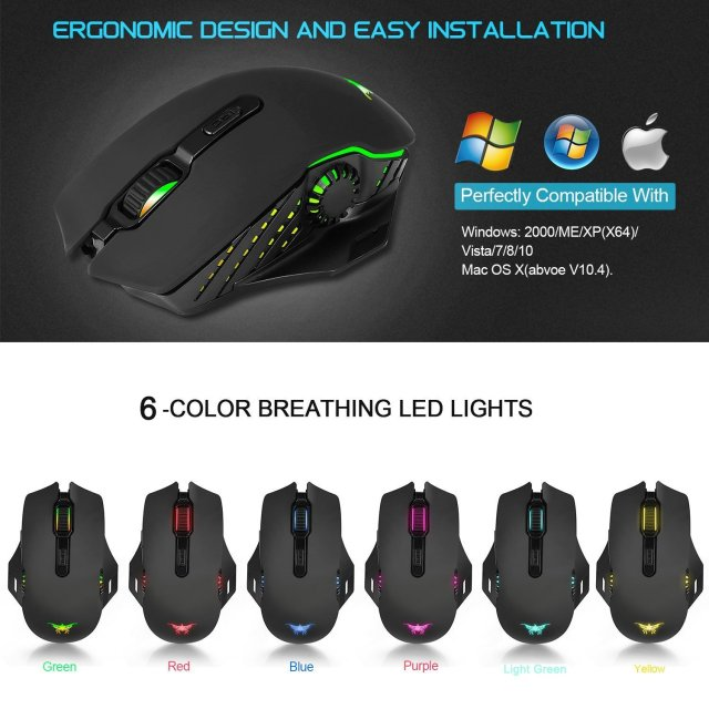 Combatwing W200 Wireless Mouse