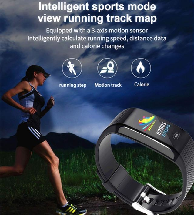 Hocent HR Fitness Tracker