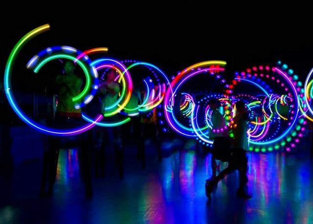 Wannabuy LED POI Balls
