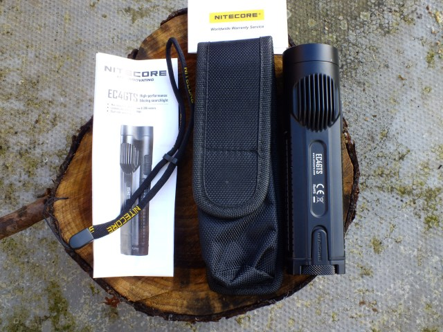 Nitecore EC4GTS Flashlight