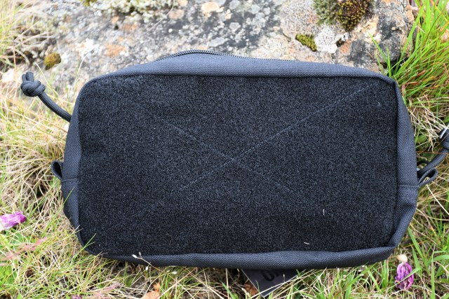 A photo of the front of the MOLLE pouch