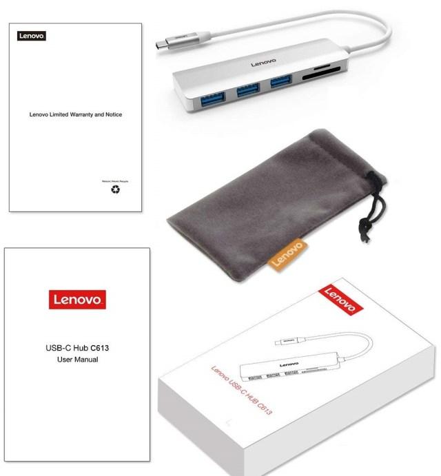 Lenovo C613 USB-C Hub