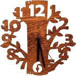 Laserò Wooden Wall Clock