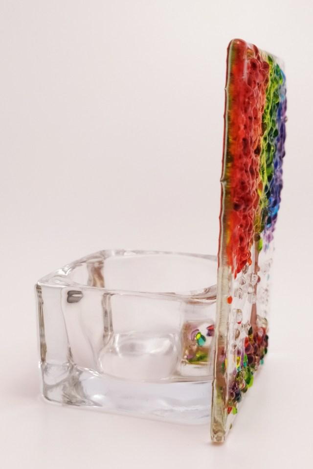 Crafty Glass Studio Rainbow Tree
