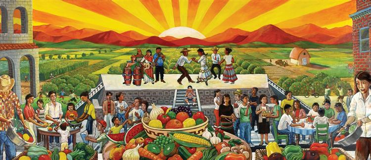 Image result for latino mural