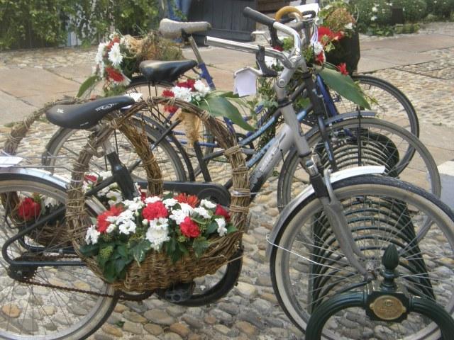 Bicycles decorated Varazdin style