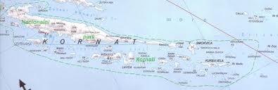Kornati map