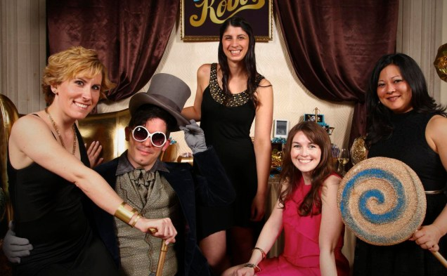 Willy Wonka Photo Booth