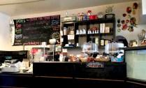 sadies diner - inside counter