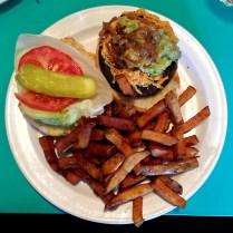 sadies diner - veggie burger