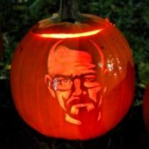 Walter White Pumpkin