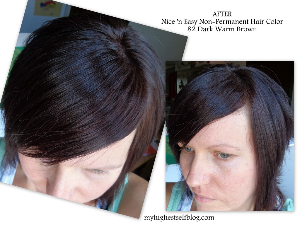 Review Clairol Nice N Easy Non Permanent Hair Color Flirtwithhaircolor