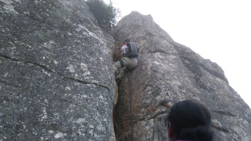 Rashaad going up!