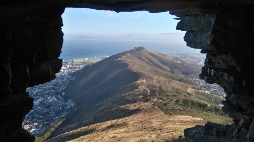 signal hill from the cave