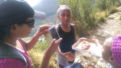 pizz on the mountain?! YES PLEASE!