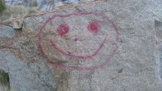 happy graffiti
