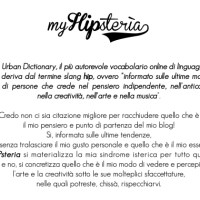 About myHIPsteria
