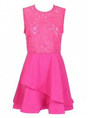 http://www.choies.com/product/hot-pink-sheer-crochet-lace-panel-sleeveelss-layered-skater-dress_p43035