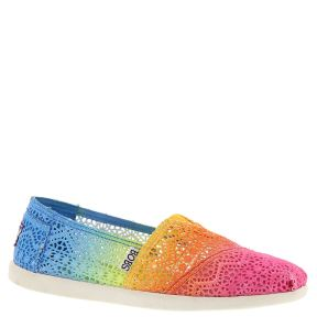 http://www.shoemall.com/p/skechers-usa-bobs-world-crochet-womens/?color=Rainbow