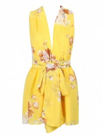 http://www.choies.com/product/yellow-floral-print-deep-v-neck-waist-belt-romper_p46975