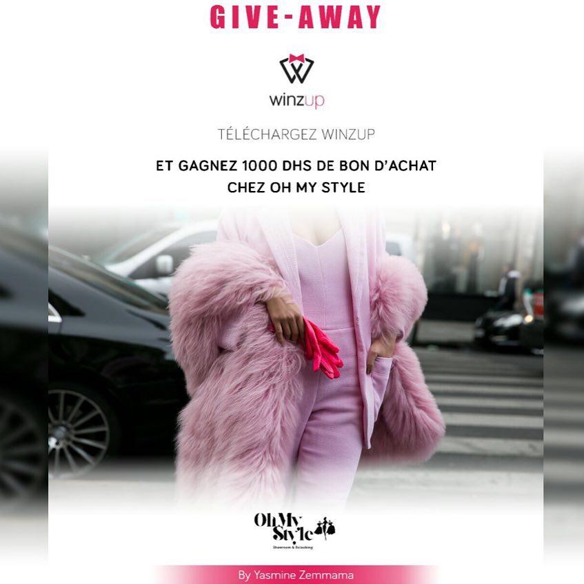 ALERT GIVEAWAY Participez au Giveaway winzupofficiel pour tenter de gagnerhellip