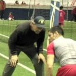 Former NFL Great Russ Francis Lends Legendary Hands and Gives Advice AT Redzone