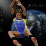 Congratulations to LaQue Moen-Davis: 2013 SEC Outdoor Long Jump Champion