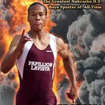 Kenzo Cotton Solidifies Ranking as Nebraska Boys Greatest Sprinter at 2014 State Meet