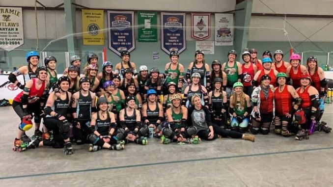 Courtesy of the Naughty Pines Derby Dames