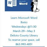 DeSoto Library - Learn Microsoft Word Basics