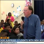 "Author James Patterson encourages reading among students at Boynton Middle school in Palm Beach County. He also gave away 25,963 copies of ""Middle School the worst years of my life,"" and ""Maximum Ride: the Angel Experiment,"" so that every sixth and seventh grader had their own book to read. Read the article to see how Patterson is doing his part to ""Make America READ again."