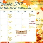 Sebring childrens calendar NOV 2017