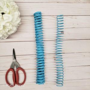 my hobby my art - scraper -espiral azul