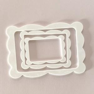 Set 3 acrylic frames - alua cid - my hobby my art