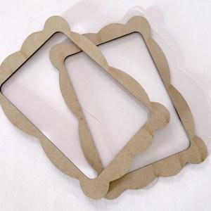 Wood frame shaker BIG - alua cid - my hobby my art