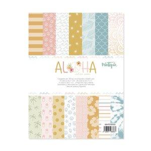 Aloha - Mintopia Studio - Basic Crea - My Hobby My Art - coleccion Aloha - 6x8 tarjetas tags - labels
