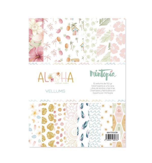 Aloha - Mintopia Studio - Basic Crea - My Hobby My Art - coleccion Aloha - 6x8 - vellum
