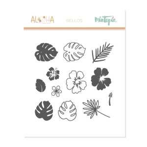 Aloha - Mintopia Studio - Basic Crea - My Hobby My Art - coleccion Aloha - sello tropical