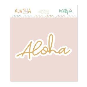 Aloha - Mintopia Studio - Basic Crea - My Hobby My Art - coleccion Aloha - troquel aloha