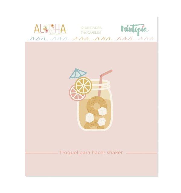 Aloha - Mintopia Studio - Basic Crea - My Hobby My Art - coleccion Aloha - troquel coctel