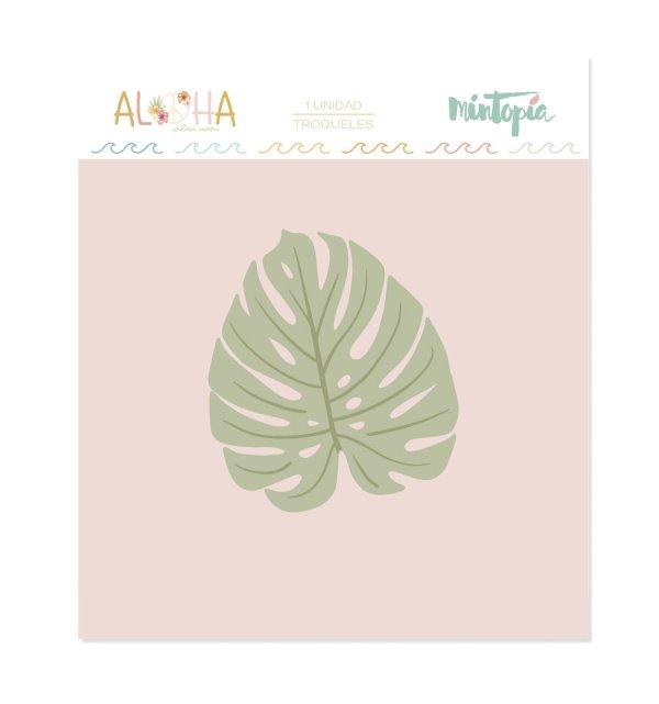 Aloha - Mintopia Studio - Basic Crea - My Hobby My Art - coleccion Aloha - troquel hoja monstera