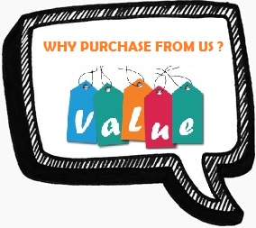Why purchase from us?