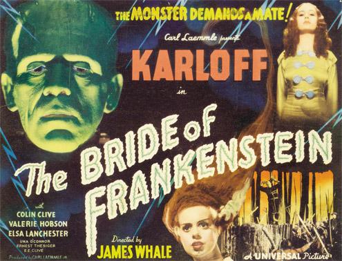 Bride of Frankenstein from myhollywooddream.com