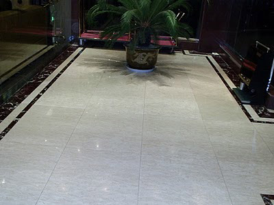 living room marble floor